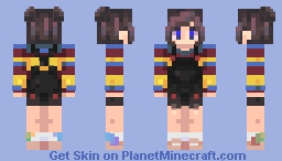 new oc ting skraaa - penelope Minecraft Skin