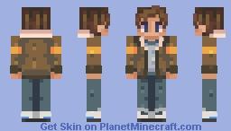a lans Minecraft Skin