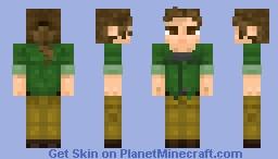 Outlast 2 - Lynn Langermann Minecraft Skin