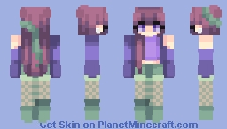 mermaid » popreel ❤ Minecraft Skin