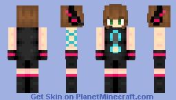 Maekawa Miku [Cyber ver.] Minecraft Skin