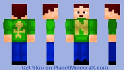 Normal Man, Your Normal Average Superhero. Minecraft Skin
