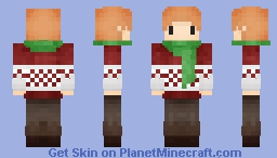 Pixel_Lime (Christmas 2017) Minecraft Skin