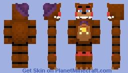 Rockstar Freddy (Freddy Fazbear Pizzeria Simulator) Minecraft Skin