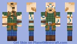 Ri Caratawc 'Four-Legs' Cadeyrn (Unarmoured) Minecraft Skin