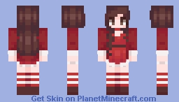 santa girl Minecraft Skin