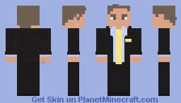 Breaking Bad/BetterCallSaul- Saul Goodman (Jimmy McGill) Minecraft Skin