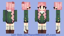 simple is fun Minecraft Skin