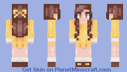 Hello -- Christmas gift Minecraft Skin