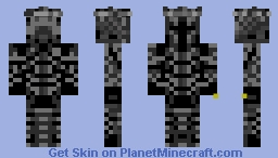 The Dark Lord Sauron Minecraft Skin
