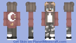 - Dogfilter girl (aesthetic) Minecraft Skin