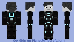 Tron from Tron: Legacy Minecraft Skin