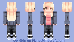 ☆ βενεℜℓγ ☆  Rose Tyler ♥  (+ 4 Other Companions) Minecraft Skin