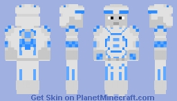 Classic 1982 Tron Minecraft Skin