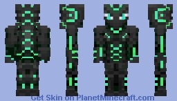 Dragon Faction Armor Minecraft Skin