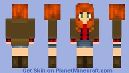 Charlie Bradbury~Supernatural Minecraft Skin