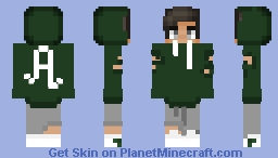 𝔸𝕦𝕤𝕥𝕚𝕟 - My Sister's First Boy Skin! Minecraft Skin