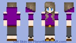 Azure OC Minecraft Skin
