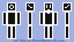 Cool Pixel Man Minecraft Skin