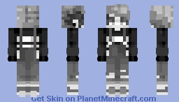 Light vs. Dark entry Minecraft Skin