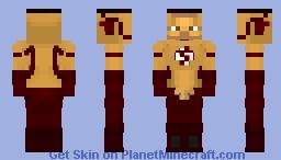 Kid Flash CW Minecraft Skin