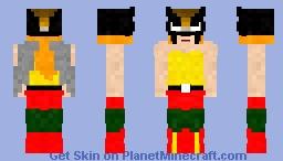 Hawkgirl | Animated 2003 Minecraft Skin