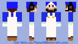 SMG4 HEADPHONES Minecraft Skin