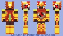 Megaman.Exe Sol Cross Minecraft Skin