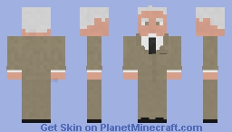 Mad Men Roger Sterling Minecraft Skin