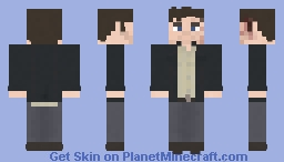 Troy Otto | Fear The Walking Dead | 3x16 Minecraft Skin