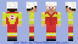 Offshore workwear Minecraft Skin