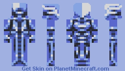 Celestial Knight Minecraft Skin