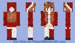 Cookie girl but X-mas version Minecraft Skin