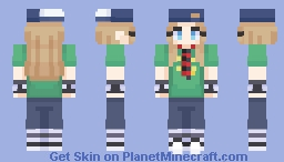 Avril Lavigne Minecraft Skin