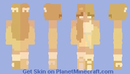 . blondie . Minecraft Skin