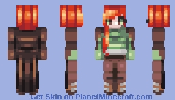 cloaked - day 18 Minecraft Skin