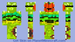 Spooky Burger Skin Minecraft Skin
