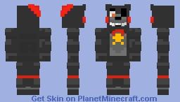 Lefty the Bear(Puppet,Freddy Fazbears Pizzaria Simulator) Minecraft Skin