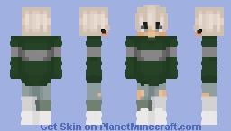 Slytherin Quidditch Sweater? Minecraft Skin