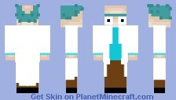 Rick (Rick and Morty) Minecraft Skin
