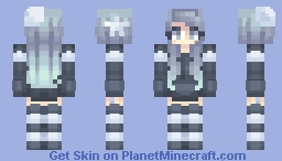 Moon and stars Minecraft Skin