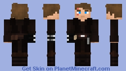 Anakin Skywalker (Star Wars - Episode III) (1.8) Minecraft Skin