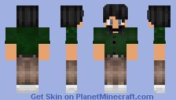 Cute Formal Boy Minecraft Skin