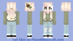 It's sweater weather Minecraft Skin