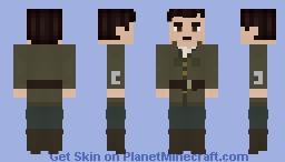 Captain Archibald Hamish Lethbridge-Stewart Minecraft Skin