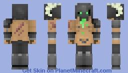 Chaos Barbarian Minecraft Skin
