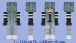 I am still here c: Minecraft Skin