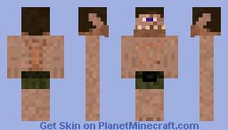 Blue-Eyed Cyclops Minecraft Skin