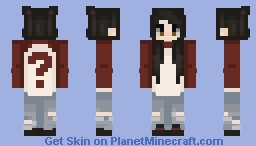 In memory of 2017 Minecraft Skin