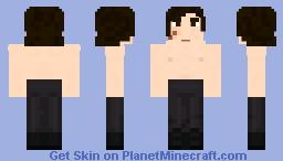 Swolo Ren (Shirtless Kylo Ren) Minecraft Skin